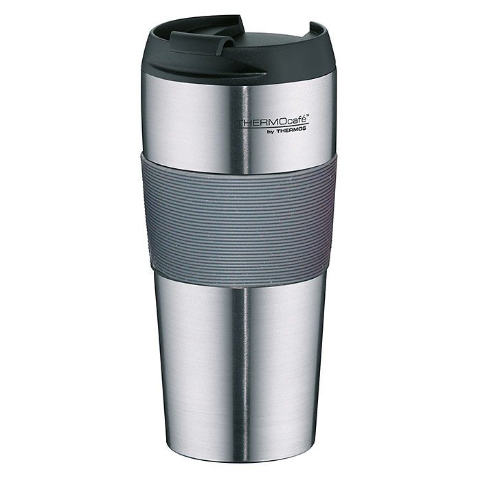 Thermos Thermo-Trinkbecher ThermoPro (0,4 l, Matt/Grau)