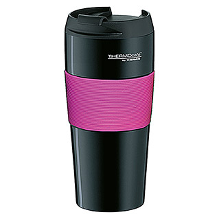 Thermos Thermo-Trinkbecher ThermoPro (0,4 l, Schwarz/Pink)