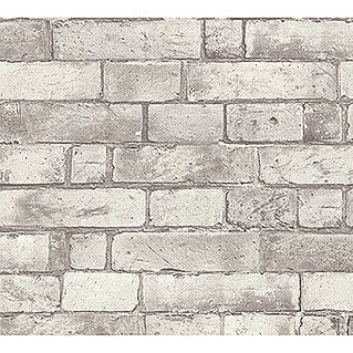 AS Creation Authentic Walls Vliestapete (Beige/Grau, Steinoptik, 10,05 x 0,53 m)