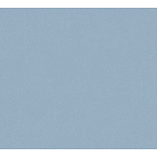 AS Creation Flavour Vliestapete I (Blau, Uni, 10,05 x 0,53 m)