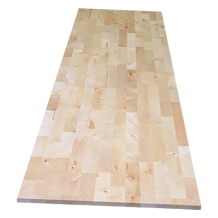 Exclusivholz Tablero de madera laminada (Abedul, 2.200 mm x 600 mm x 18 mm )
