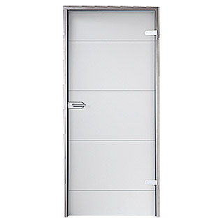Diamond Doors Glasdrehtür Lines Positiv (834 x 1.972 mm)