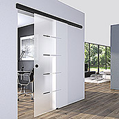 Diamond Doors Black Edition Schiebetürsystem Premium Black Edition (935 x 2.058 mm, Einscheibensicherheitsglas (ESG))