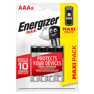 Energizer Batterie Max (Micro AAA, 1,5 V)