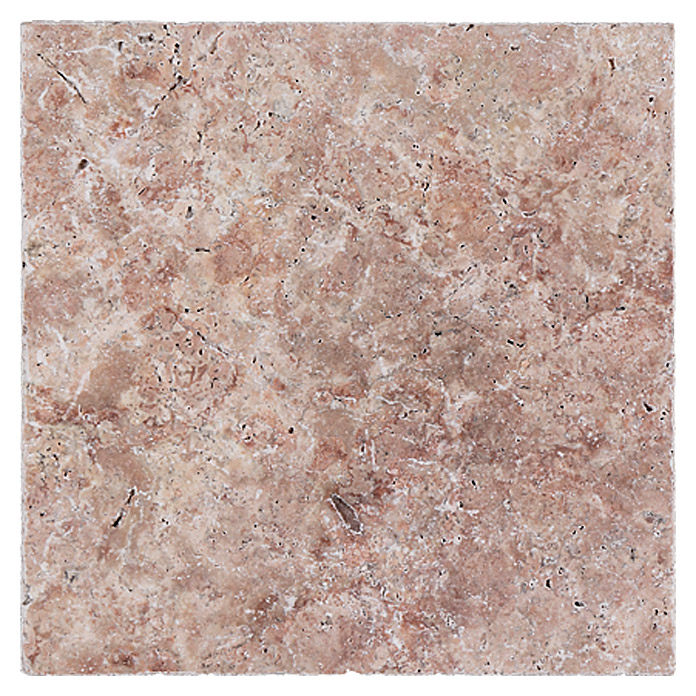 Antikmarmor Travertin (30,5 x 30,5 cm, Rosso)