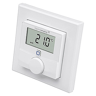 Homematic IP Funk-Raumthermostat (Batteriebetrieben, 25 x 86 x 86 mm)