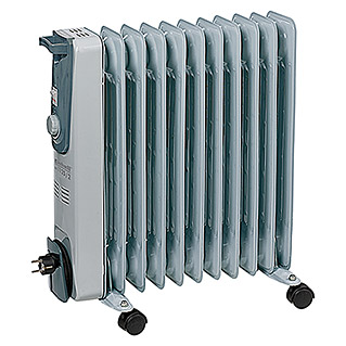 Einhell Heating Ölradiator MR 1125/2 (2.500 W, Grau, 52,7 x 14 x 62,2 cm)