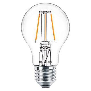 Philips Bombilla LED Vintage (4,3 W, E27, Color de luz: Blanco neutro, Redondeada)