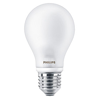 Philips Bombilla LED (4,5 W, E27, Color de luz: Blanco frío, Redondeada)