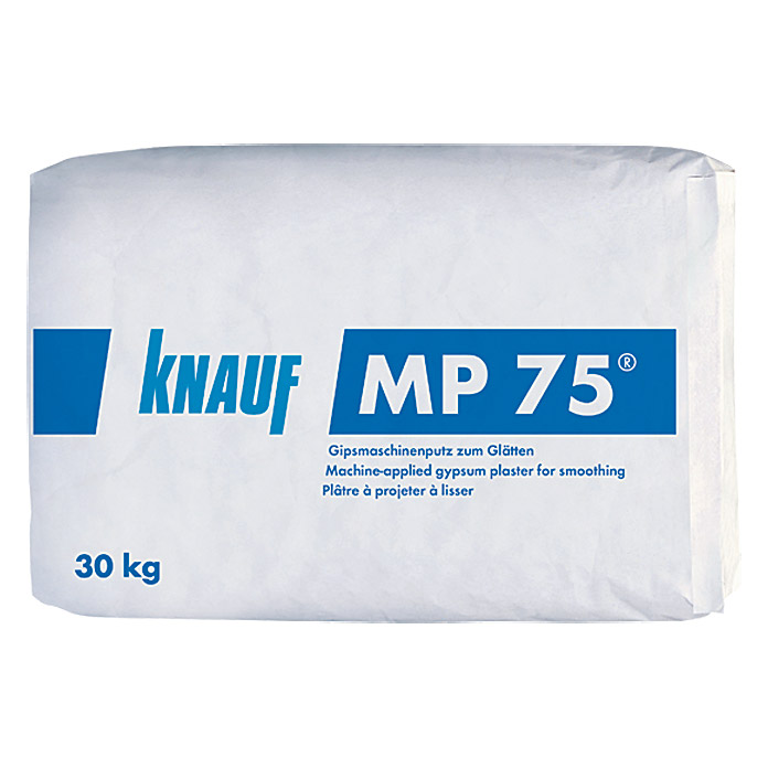knauf maschinenputz mp 75 30 kg innen bauhaus. Black Bedroom Furniture Sets. Home Design Ideas