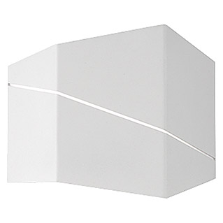 Trio Lighting Aplique de pared LED Zorro (6,5 W, Blanco, L x An x Al: 18 x 6,5 x 14,5 cm, Color de luz: Blanco cálido)