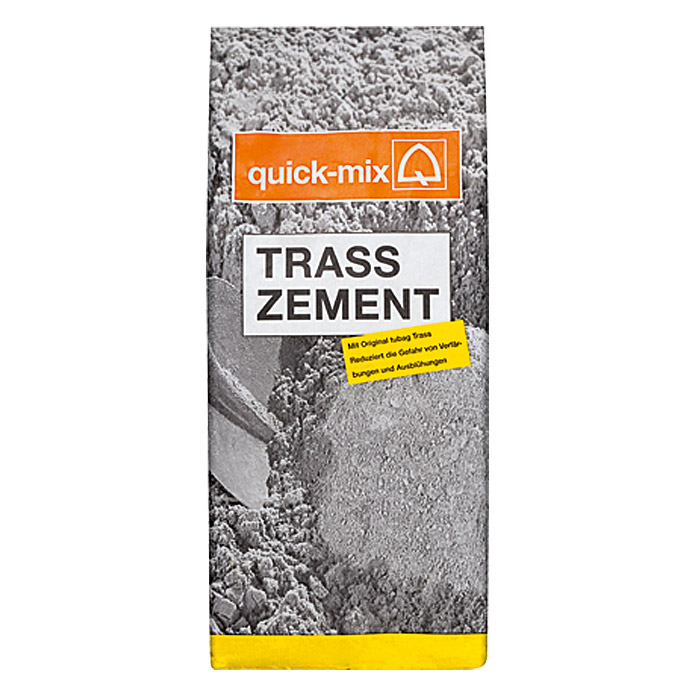 Quick-Mix Trasszement (5 kg, Chromatarm)