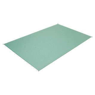 Knauf Gipskartonplatte Greenboard Plus (2.000 x 600 x 12,5 mm)