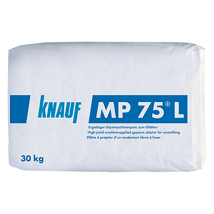 knauf maschinenputz mp 75 l 30 kg innen bauhaus. Black Bedroom Furniture Sets. Home Design Ideas