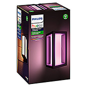 Philips Hue Impress LED-Außenwandleuchte White & Color Ambiance Impress (2-flammig, 8 W, Lichtfarbe: RGBW, IP44, 14,1 x 12 x 24 cm)