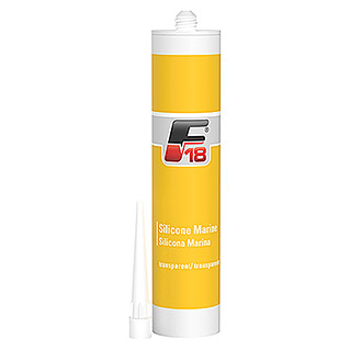 F18 Silikon-Dichtungsmasse (310 ml, Transparent)
