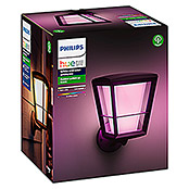 Philips Hue LED-Außenwandleuchte White & Color Ambiance Econic (1-flammig, 15 W, Lichtfarbe: Bunt, IP44)