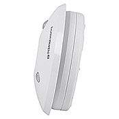 Homematic IP Alarmsirene (Batteriebetrieben, Alarmsignal: 90 dB, Ø x H: 12,4 x 4,5 cm)