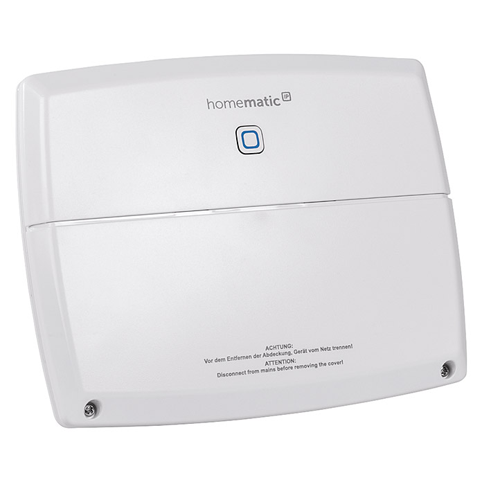 Homematic IP Steuerzentrale Multi IO Box (Weiß, 3,4 x 19,9 x 15,6 cm, Passend für: Homematic IP System)