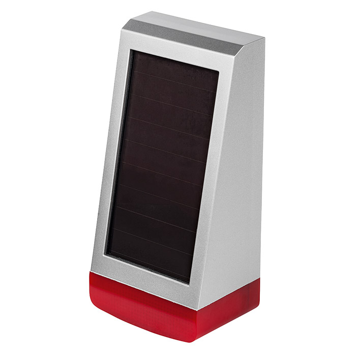 Homematic IP Alarmsirene (Solarbetrieben, Alarmsignal: 100 dB, 8,7 x 11 x 23 cm) -