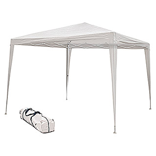 Carpa plegable Easy Up Javea (L x An: 300 x 300 cm, Blanco)
