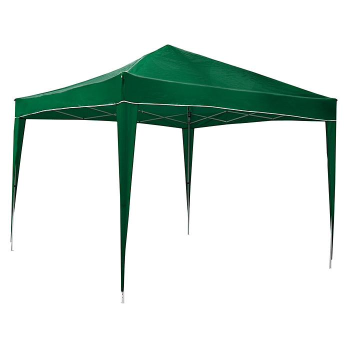 Carpa plegable Easy Up California (L x An: 300 x 300 cm, Verde)