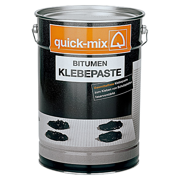 quick mix bitumen klebepaste 10 kg l semittelfrei bauhaus. Black Bedroom Furniture Sets. Home Design Ideas