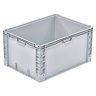 Surplus Systems Eurobox (L x An x Al: 80 x 60 x 42 cm, Plástico, Gris)