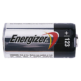 Energizer Pila de litio (CR123A, Litio, 3 V)