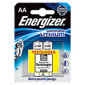 Energizer Batterie Ultimate Lithium (Mignon AA, 1,5 V, 2 Stk.)