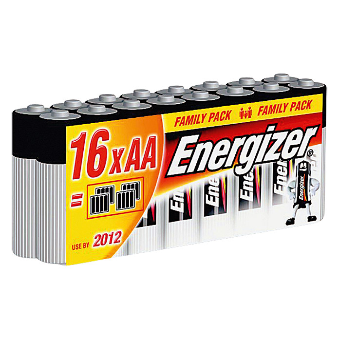 Energizer Batterie Classic (Mignon AA, 16 Stk., 1,5 V)