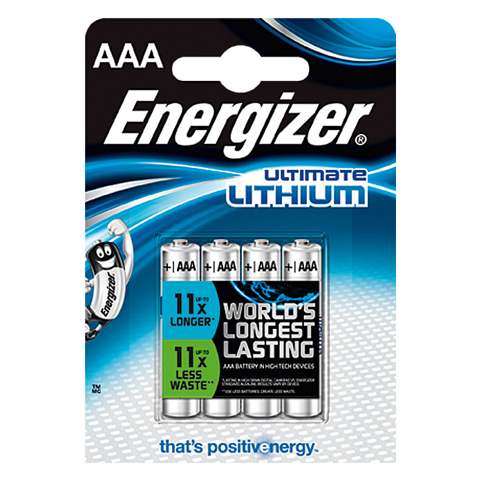 ENERGIZER LITHIUM   AAA MICRO 4ER