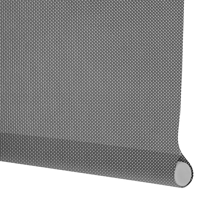 Viewtex Estor enrollable Screen 10% (An x Al: 105 x 190 cm, Gris perla, Traslúcido)