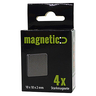 AS Creation Magnet (Quadratisch, 10 x 10 x 2 mm)