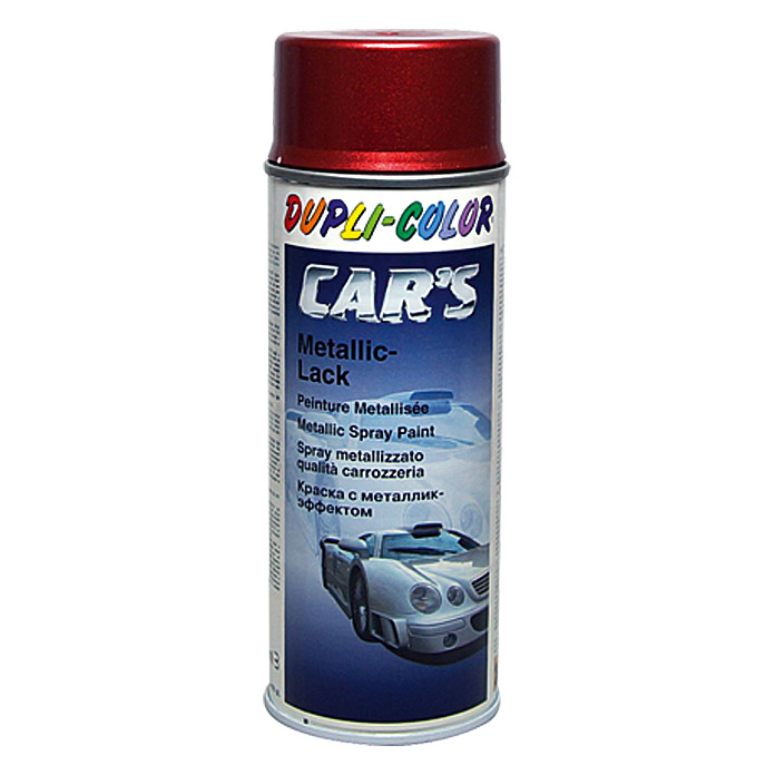 Dupli-Color CAR's Metallic-Lackspray  (Rot, 400 ml)