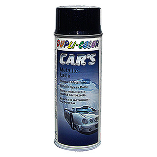 Dupli-Color CAR's Metallic-Lackspray  (Schwarz, 400 ml)