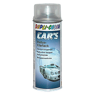 Dupli-Color Klarlack-Spray CAR'S Rallye (Farblos, Glänzend, 400 ml)