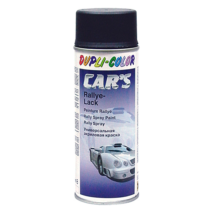 ACRYL-RALLYE-SPRAY  SCHWARZ MATT