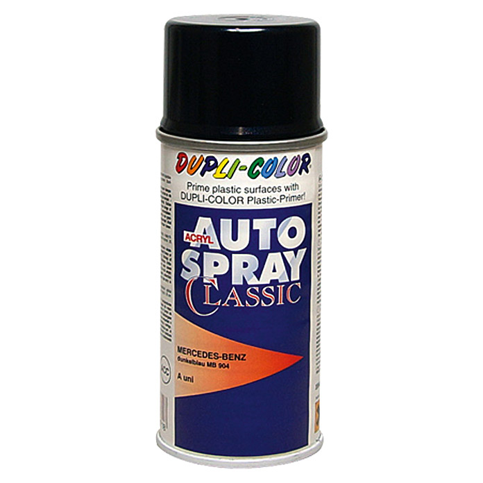 Dupli-Color Acryl-Autospray Classic (Mercedes Benz, Dunkelblau, 150 ml)