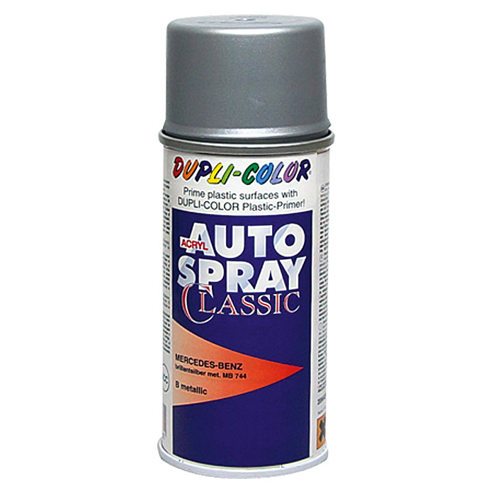 Dupli-Color Acryl-Autospray Classic (Mercedes Benz, Brillantsilber Metallic)
