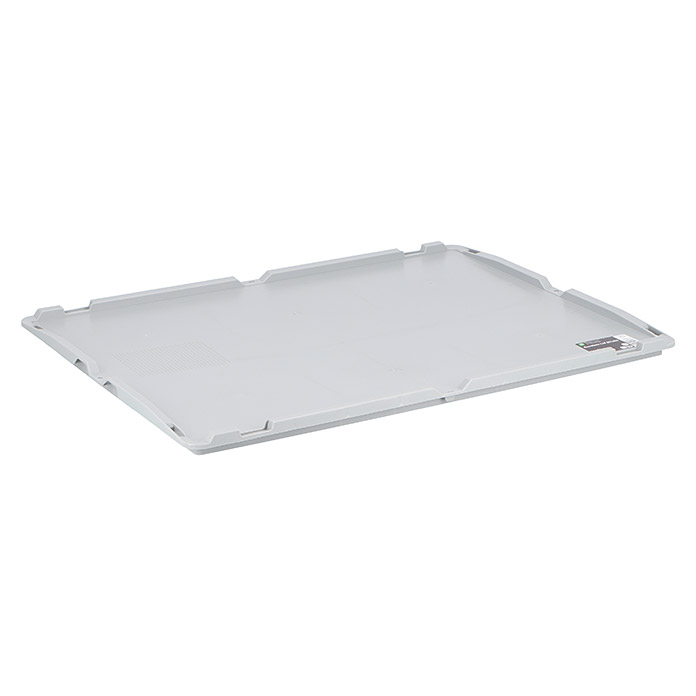 Surplus Systems Tapa (Apto para: Caja Euronorm Surplus Systems 80 x 60 cm, L x An: 80 x 60 cm)