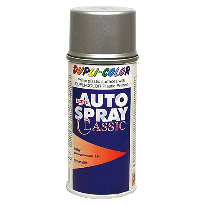 Dupli-Color Acryl-Autospray Classic (BMW, Sterlingsilber Metallic)
