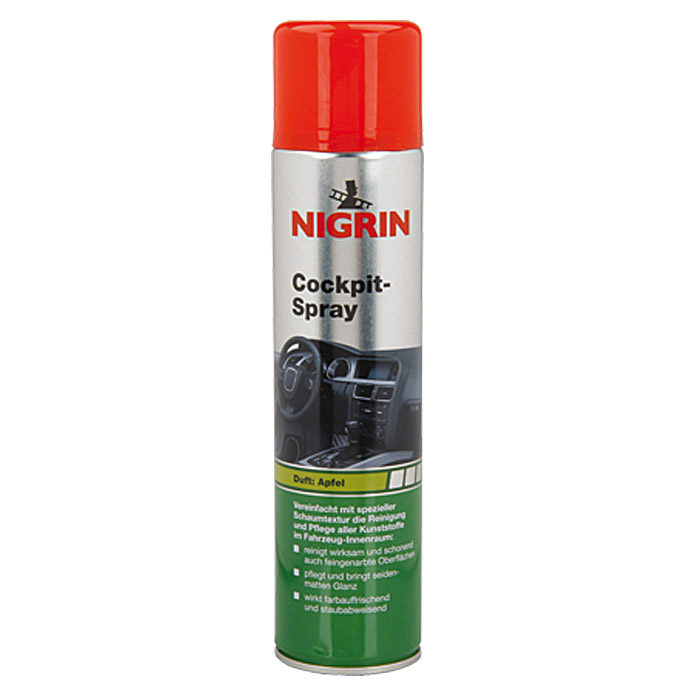 Nigrin Cockpit-Spray  (400 ml, Apfel)