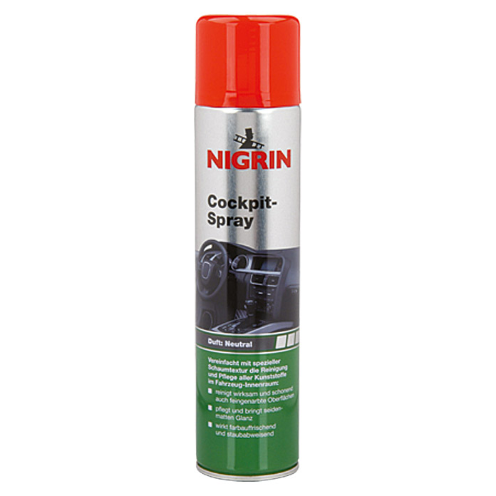 Nigrin Cockpit-Spray  (400 ml, Neutral)