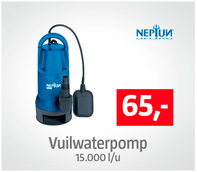 Neptun Vuilwaterpomp