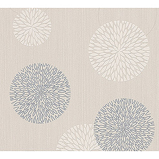 AS Creation Vliestapete Best of Vlies 2016 (Beige, Floral, Blütenmuster, 10,05 x 0,53 m)
