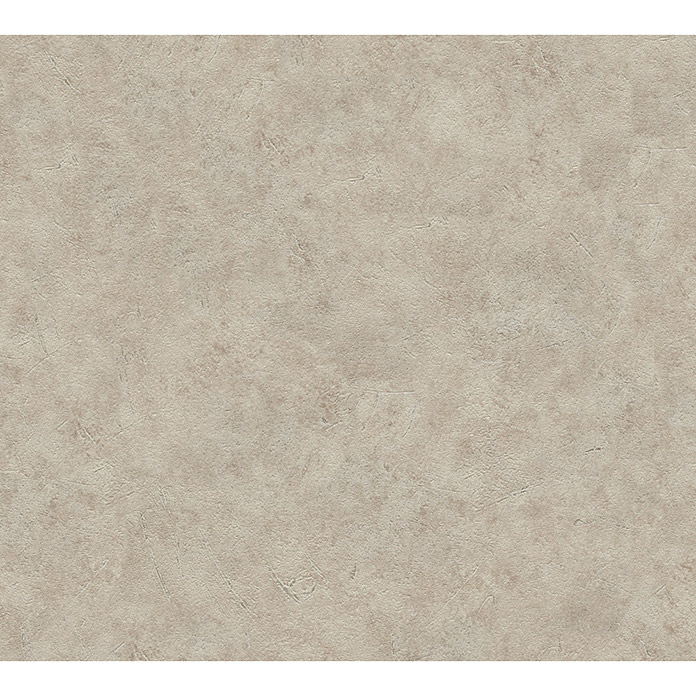 AS Creation Vliestapete Meistervlies 5 (Taupe, Uni, 10,05 x 0,53 m) -