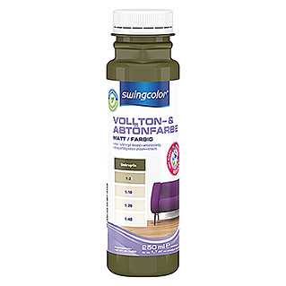swingcolor Vollton- & Abtönfarbe (Umbragrün, 250 ml, Matt)