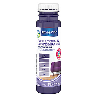 swingcolor Vollton- & Abtönfarbe (Violett, 250 ml, Matt)