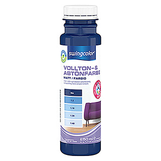 swingcolor Vollton- & Abtönfarbe (Blau, 250 ml, Matt)